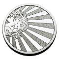 SCOTTSDALE社太陽ライオン銀貨1オンス