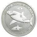 白鮫(しろさめ)銀貨1/2オンス2014年製純銀