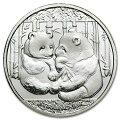 パンダ銀貨1g2013年製ライジングサンミント発行
