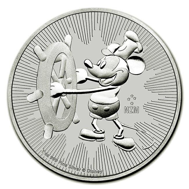 ミッキーマウス銀貨