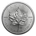 メイプル銀貨1オンスカナダ王室造幣局発行2018