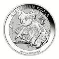 コアラ銀貨1オンス2018年
