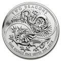 GBツードラゴン銀貨1オンス
