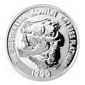 プラチナコアラコイン1/10オンス1990年製オーストラリアパース造幣局発行(表)
