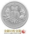 イギリスロイヤルアームズ銀貨1オンス2019年logo