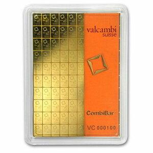 【ヴァルカンビ 1g×100 5枚セット】valcambi ゴールドバー インゴット 純金 コイン ゴールド k24 24金 地金型金貨 gold coin 99.99% au suise