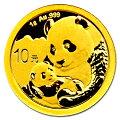 パンダ金貨1g2019年