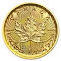 メイプル金貨1/20オンス2018年