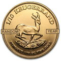 クルーガーランド金貨1/10オンス南アフリカ共和国造幣局