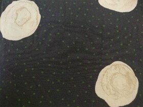 bulle de savon(ビュルデサボン) ぼんやりドットプリント タックフレアワンピース(03-01-OP-054-19-1)