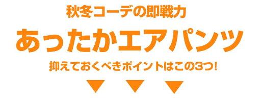 エアパンツ/あったかパンツ/ストレッチ