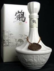 【終売決定】ニッカ鶴17年陶器ボトル700ml43度箱付きNIKKAA01192