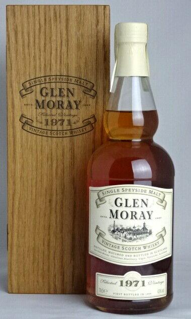 グレンマレイ [1971-1999] 700ml 43度 木箱付き GLEN MORAY SINGLE SPETSIDE MALT VINTAGE SCOTCH WHISKY スコッチウイスキー A05301:お酒のSPANA