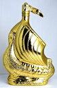 ラーセン ゴールデン スカルプチャー (ゴールド) 700ml 40度 LARSEN Golden Sculpture Viking Ship Fine Champagne Cognac ブランデー/コニャック・・・