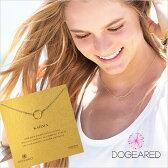 【定形外郵便可 140円】Dogeared ドギャード【K1G-G100-100000】the original karma necklace オリジナルカルマネックレス gold dipped ゴールド お守り カリフォルニア