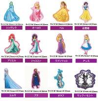 Disneyプリンセスワッペン【シール/アイロン接着】