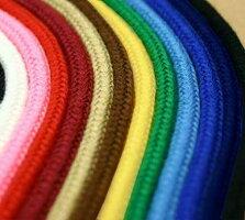 カラー紐《ファッションコード》【約4mm巾×約2.8m】