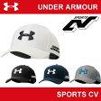 | 在庫限り販売終了 | アンダーアーマー メンズ 帽子 キャップ ゴルフ ヒートギア(夏用) UNDER ARMOUR UA GOLF ACE CAP〔AGF2621〕