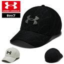 アンダーアーマー メンズ ゴルフ キャップ ゴルフキャップ 帽子 1305038 ヒートギア 夏用 UNDER ARMOUR プリントブリッツィング3.0