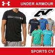  在庫限り販売終了   アンダーアーマー メンズ Tシャツ ヒートギア(夏用) コットン UNDER ARMOUR(アンダーアーマー)UAチャージドコットンSS GP <ファストロゴ>〔MTR2861〕
