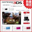 【新品・数量限定・本体同梱セット】3DS メタリックレッド本体+モンスターハンター4+3DS専用スライドパッド同梱