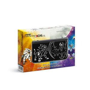 3DS Newニンテンドー3DS LL ソルガレオ・ルナアーラ【ブラック】