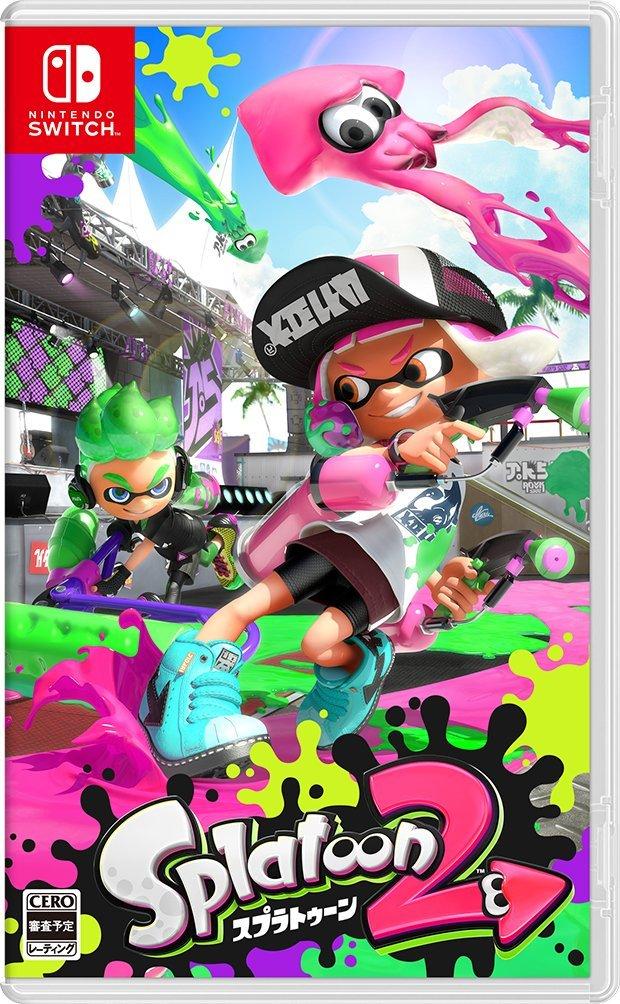 Nintendo Switch, ソフト  Nintendo Switch Splatoon 2( )