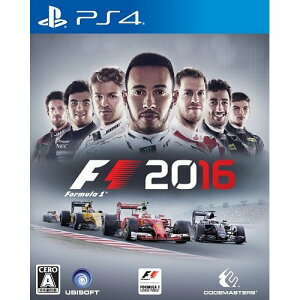 【2016年09月08日発売】★新品★PS4  F1 2016【初回生産限定特典付き】