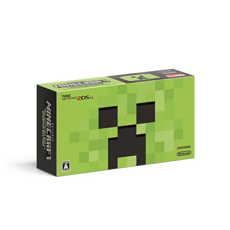 Nintendo 3DS・2DS, 2DS 本体 2DS MINECRAFT New2DS LL CREEPER EDITION20180802