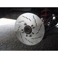 speed18スリット2枚セットダミーディスクダミーローター厚み1.5ミリ直径300ミリ