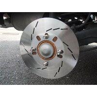 speed16スリット2枚セットダミーディスクダミーローター厚み1.5ミリ直径250ミリ