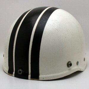 【在庫有 即納】【送料無料】 1950s 初代 (BELL) TOPTEX SHORTY WHITE 56cm ハーフヘルメット半キャップ半帽半ヘルアメリカンベルショーティーSサイズ