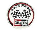 70's VINTAGE CHAMPION RACING DIVISION WAPPEN(70sビンテージチャンピオンレーシングディビジョンワッペン) 【海外直輸入新古品】当時物nascarナスカーindy 500インディ500indy carインディカーhot rodホットロッドレースレーシング
