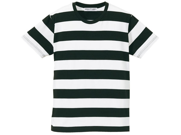 トップス, Tシャツ・カットソー PRISONER BORDER T-shirtTBLACK WHITE kurt cobainnirvana90s90