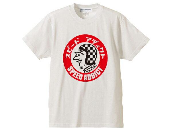 トップス, Tシャツ・カットソー SPEED ADDICT TRADE MARK T-shirtT bell500txstarmoto3bucobabysm allextrasmilegtsimpsonm30sho eiaraimomo designshm