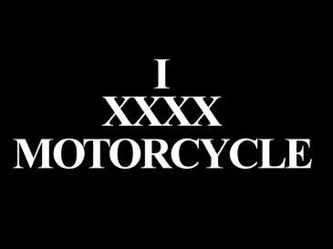 【在庫有 即納】【10,000円(税別)以上お買上で送料無料】I XXXX MOTORCYCLE T-shirt(I XXXXモーターサイクルTシャツ)BLACK 黒半袖バイカーファッションバイクウェアカフェレーサーmodsモッズvespaヴェスパtriumphトライアンフnortonノートン英車英国車国産車アメカジ古着