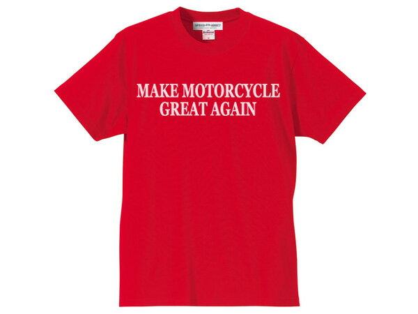 トップス, Tシャツ・カットソー SALE!!314()17MAKE MOTORCYCLE GREAT AGAIN T-shirt(MAKE MOTORCYCLE GREAT AGAIN T)RED usa50s60s70s80s90s