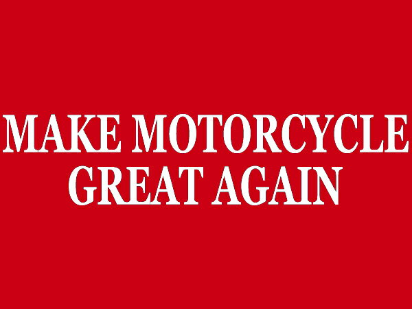 トップス, Tシャツ・カットソー MAKE MOTORCYCLE GREAT AGAIN T-shirt(MAKE MOTORCYCLE GREAT AGAIN T)RED usa50s60s70s80s90s