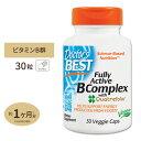 ベスト フーリーアクティブ 活性型ビタミンBコンプレックス 30粒サプリメント サプリ ビタミンB群 Doctor's best ドクターズベスト