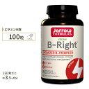 ビタミンBライト(低臭性Bコンプレックス) 100粒サプリメント サプリ ビタミンB群 Jarrow Formulas ジャロウフォームラズ