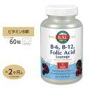 ビタミンB6 B12&葉酸トローチ(ホモシステインバスター) 60粒 KAL