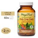 キッズ・ワン・デイリー お子様用 マルチビタミン 60粒 タブレット MegaFood(メガフード)マルチビタミン ミネラル 1日の栄養素 子ども 成長 健康