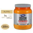 クレアチンモノハイドレート 100%ピュアパウダー 1000g NOW Foods(ナウフーズ)