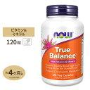 トゥルーバランス マルチビタミン 120粒 NOW Foods(ナウフーズ)