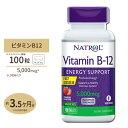 ビタミンB-12【すぐ溶けるチュワブル】5000mcg 100粒(ストロベリー味)サ プリメント サプリ ビタミンB12 now ナウ