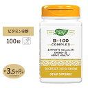B-100コンプレックス(B2補酵素配合) 100粒サプリメント/サプリ/ビタミンB群/Nature's Way/ネイチャーズウェイ/