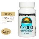 ビタミンC サプリメント タイムリリースC-1000 タイムリリースwith ローズヒップ 1000mg 50粒サプリメント 健康サプリ ビタミン類 ビタミンC配合