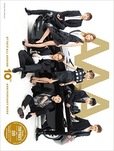 新品☆AAA-ATTACK ALL AROUND-10th ANNIVERSARY BOOK 単行本
