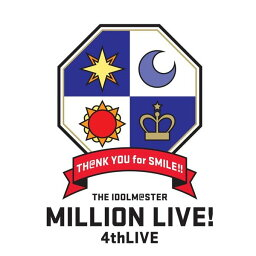 THE IDOLM@STER MILLION LIVE! 4thLIVE TH@NK YOU for SMILE! LIVE Blu-ray COMPLETE THE@TER(Blu-ray Disc)