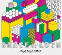 【新品】【即納】SENSE or LOVE (初回限定盤) (CD+DVD) Limited Edition Hey!Say!JUMP